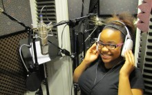 """New Hire, Teen Legend"" Makayla Fisher Getting Ready For A Voice Over Recording!"