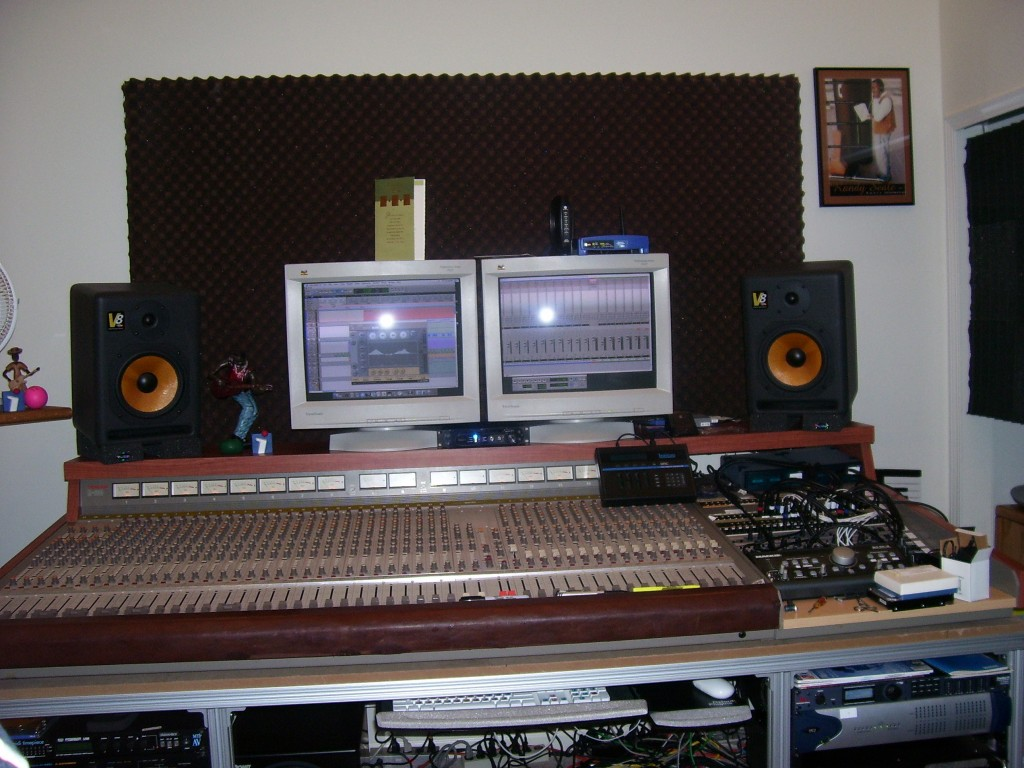 The studio in the early 2000s